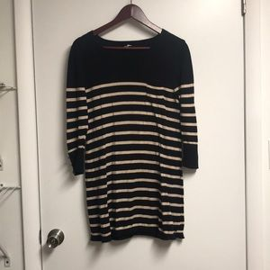 Urban outfitters striped sweater dress